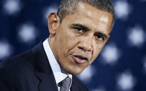 confident Barack Obama