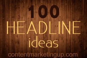 100 headline ideas