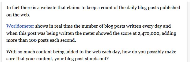 wordometer statistics