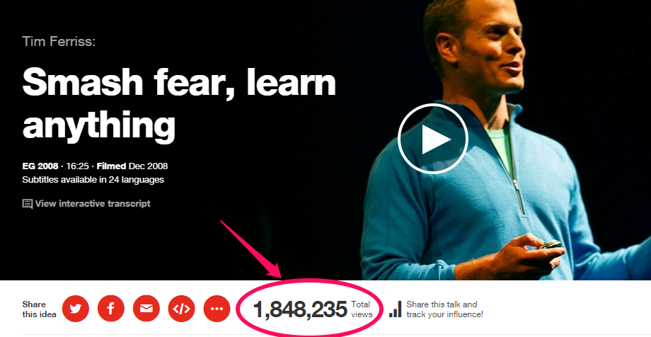 Smash fear with Tim Ferriss, learn anything