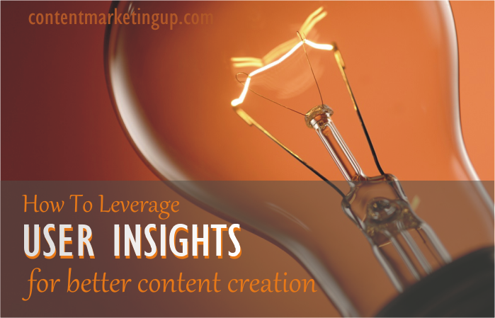 user insight for content creation
