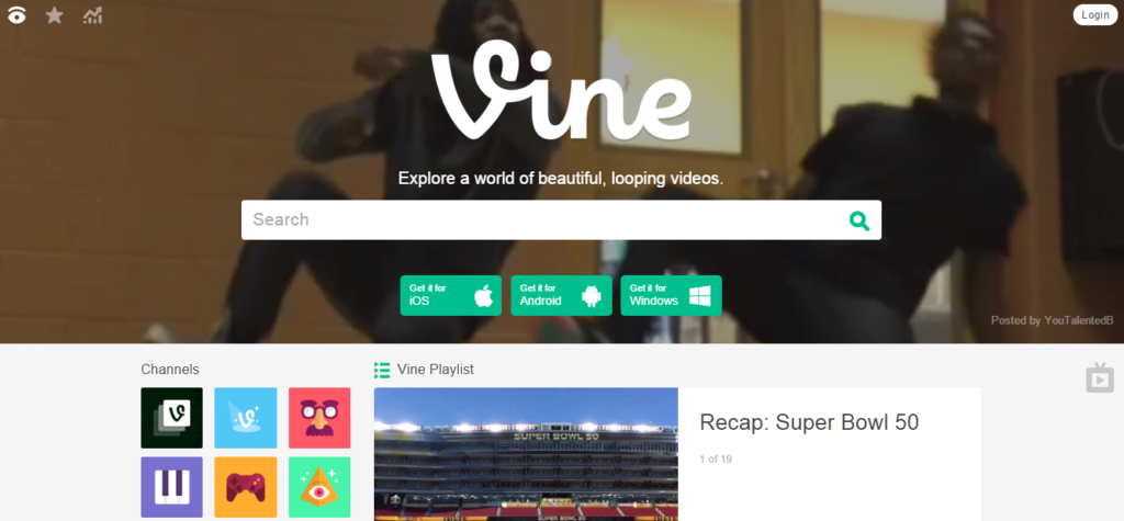 vine streaming videos